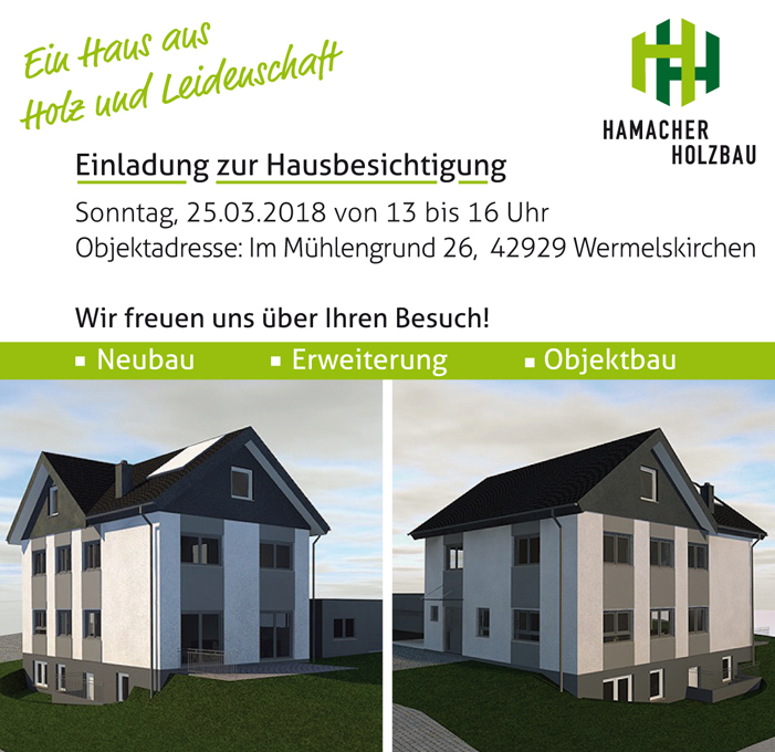 Hamacher Holzbau holzbau niederkassel neunkirchen seelscheid odenthal refrath