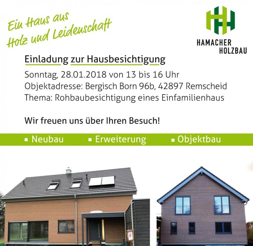 Hamacher Holzbau holzhausbau holzhäuser siegburg niederkassel hamacher